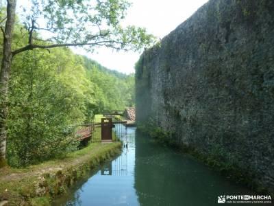 Parque Natural Pagoeta_Valle Leitzaran;laguna de taravilla y salto de poveda dehesa de la hiruela la